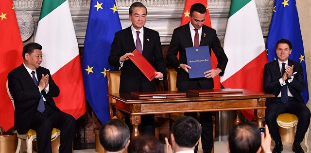 Image result for Italy joins China's Economic Silk Road project, Oman allows US military to use its ports