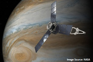 NASA extends Juno Mission for at least 3 years