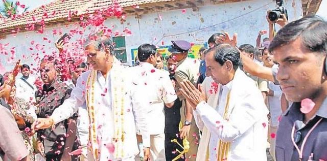 K Chandrasekhar Rao to be sworn in as Telangana CM