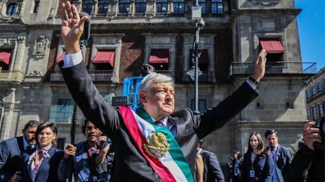 Andres Manuel Lopez Obrador sworn in as 58th President of Mexico