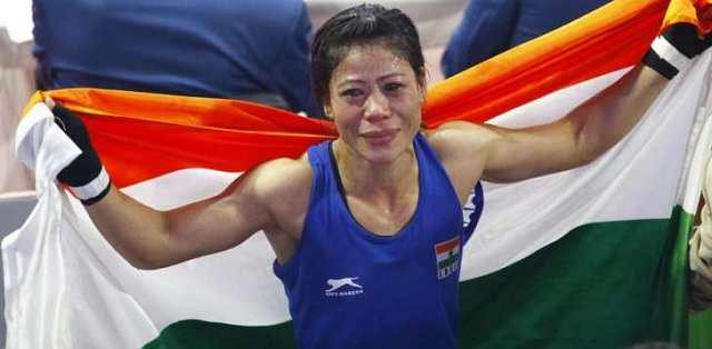 Image result for Mary Kom clinches gold in World Boxing Championship