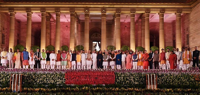 Groovy Narendra Modi Cabinet 2019 Who Gets What Porfolio First Home Interior And Landscaping Oversignezvosmurscom