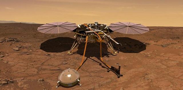 NASA's InSight explorer lands safely on Mars