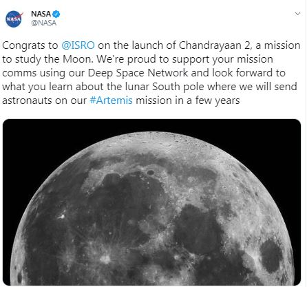Chandrayaan-2 Launch See How World Reacts