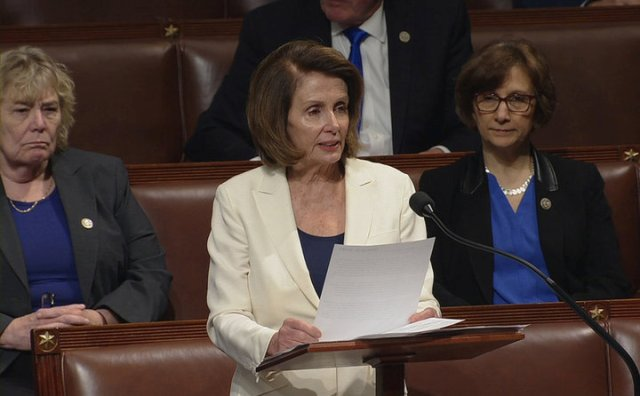 Pelosi sets record for longest continuous speech in the US House