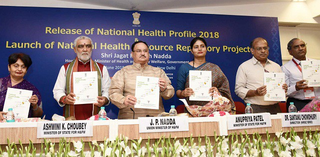 Health Minister releases National Health Profile 2018