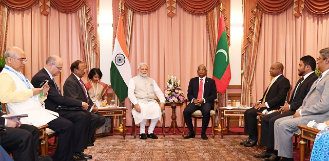 India, Maldives released Joint Statement