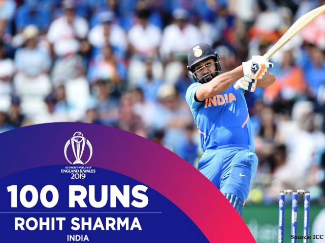 world cup 2019 record rohit sharma becomes 2nd indian cricketer to hit 600 runs in world cup