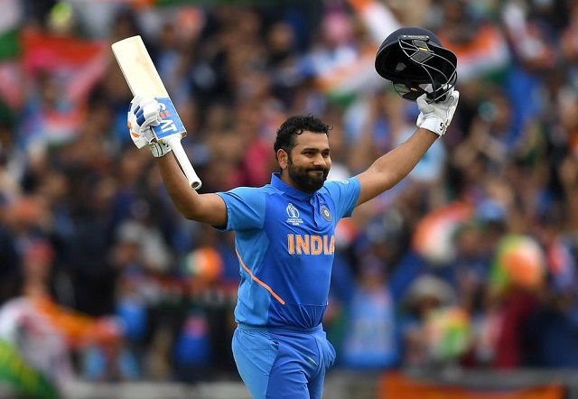 rohit sharma world cup century