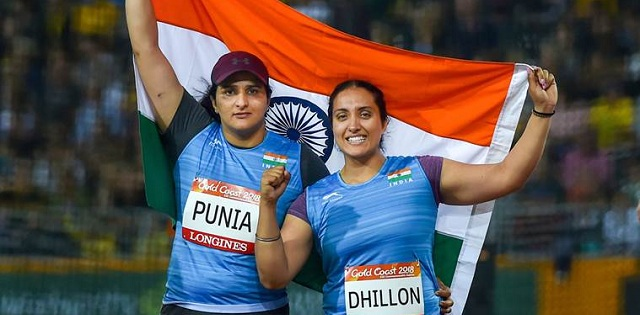 Athletes open India's account in CWG 2018:  Seema Punia wins silver