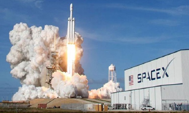 Image result for •SpaceX launches 64 satellites aboard reusable rocket