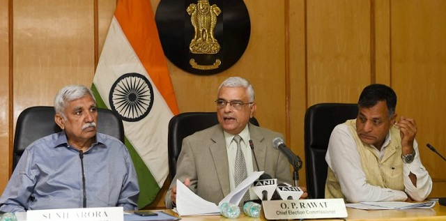 Image result for Sunil Arora appointed as new Chief Election Commissioner