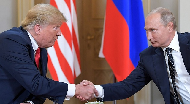 Helsinki Summit: Trump, Putin hold first one-on-one-talks