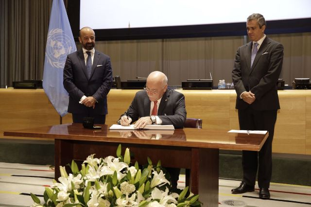 50 nations sign United Nations Treaty on the Prohibition ...