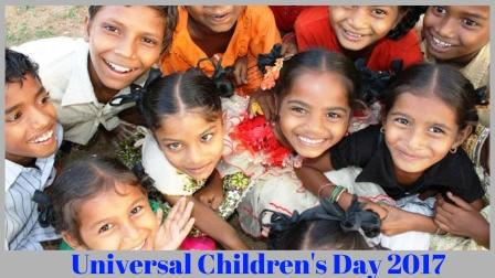 Today is Universal Children's Day