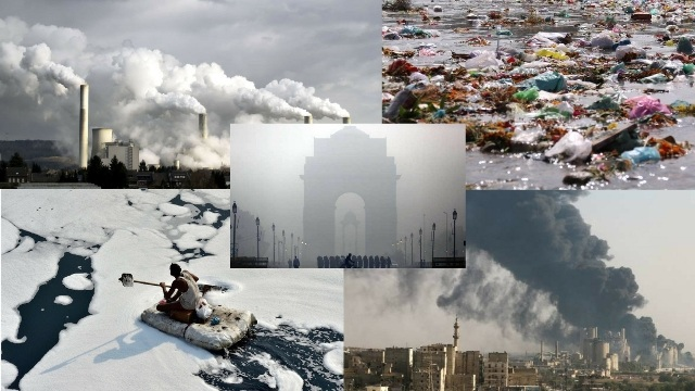 India among top five nations with most pollution related deaths