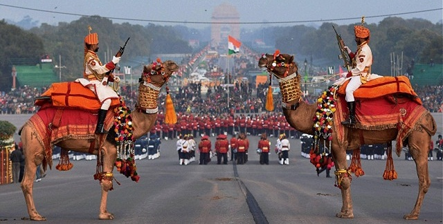Image result for Beating the Retreat ceremony held in Delhi