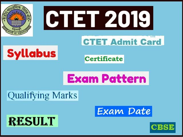 CTET December 2019 Details: Know Registration, Exam Pattern