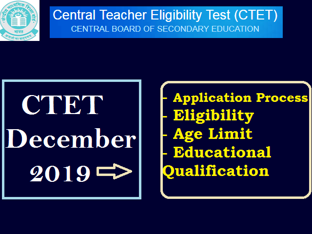 CTET December Notification 2019