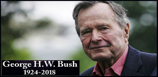 Former US President George HW Bush passes away