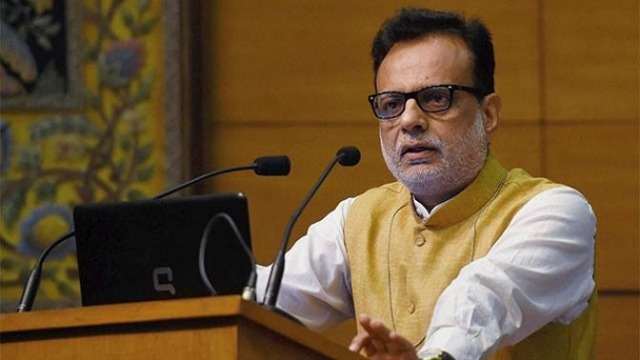 Revenue Secretary Hasmukh Adhia Designated Finance Secretary