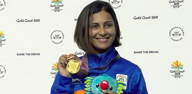Heena Sidhu wins gold medal in 25m pistol event