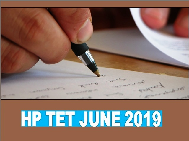 HP TET 2019: Admit Card, Syllabus, Important Questions, Answer Key