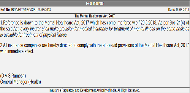 Health Insurance Companies To Cover Mental Illness Under Medical