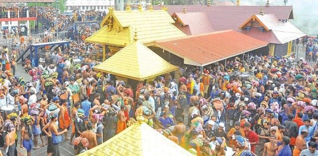 Image result for Sabarimala temple case: Ban on women unconstitutional, says Kerala Government