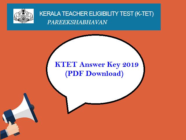 KTET Answer Key 2019 released: Raise Objections by July 18