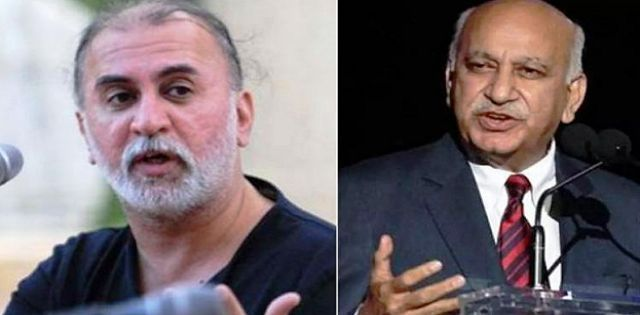 Image result for #MeToo movement: Editors Guild of India suspends MJ Akbar, TarunTejpal over sexual harassment allegations