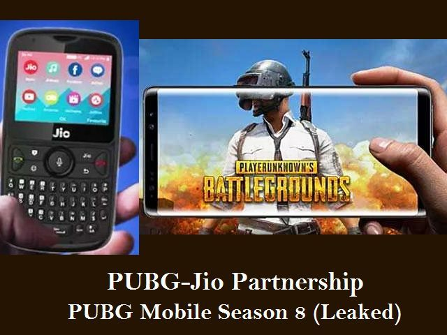 PUBG-Jio Partnership to offer Free In-game Rewards