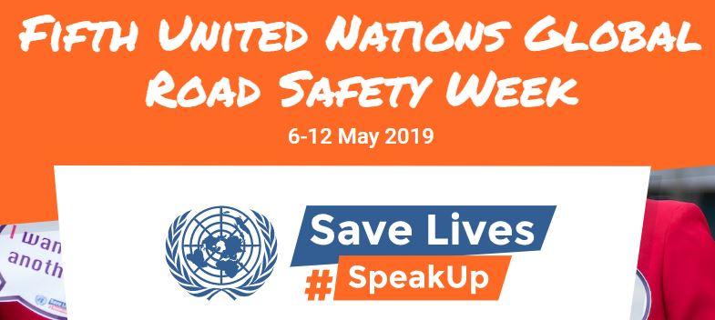 Global Road Safety Week 2019
