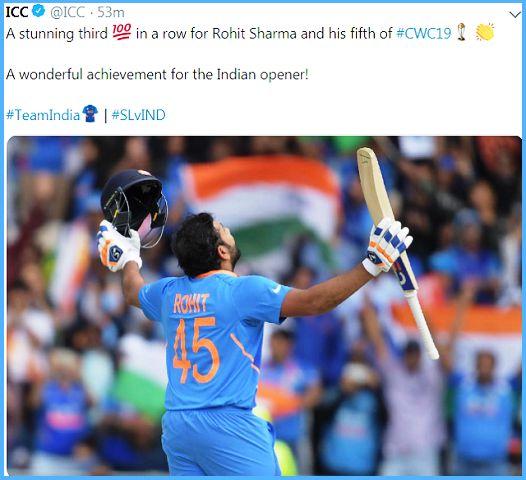 Rohit Sharma hits 5 centuries