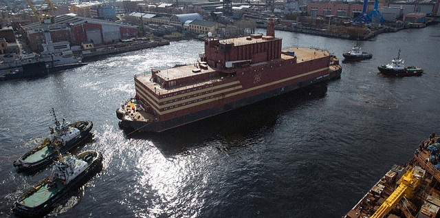 World's first floating nuclear power plant to begin operations