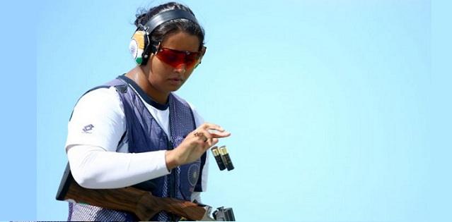 Shreyasi Singh bags gold in double trap final
