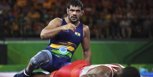 Sushil Kumar, Rahul Aware win gold