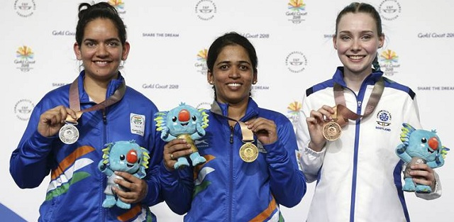 Tejaswini Sawant clinches gold in 50m Rifle 3 Positions
