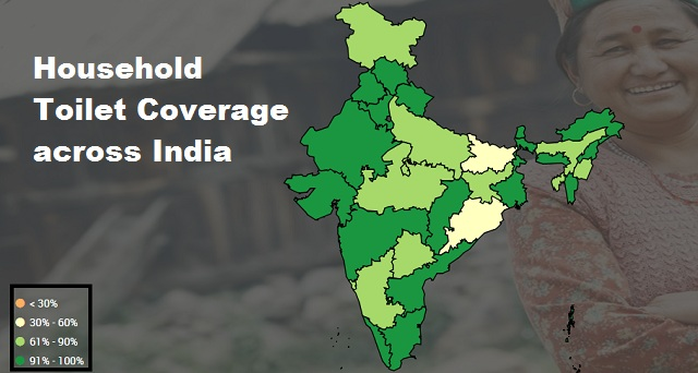 Sanitation coverage in rural India rises to 85 per cent