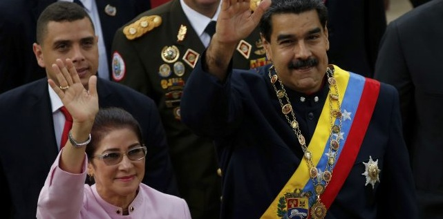Image result for Venezuelan President Nicolas Maduro re-elected, opposition cries foul