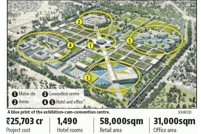 World-class convention centre to be built in Delhi