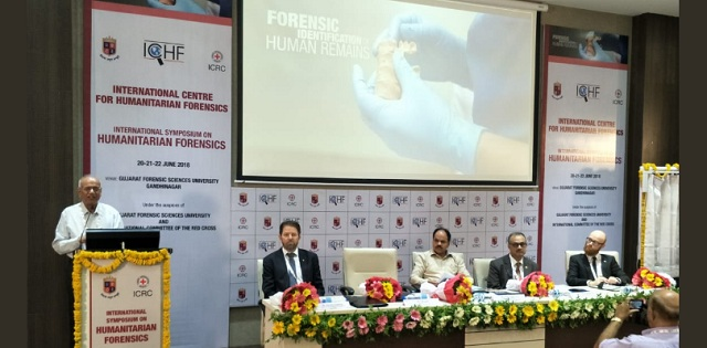 Image result for World's first International Centre for Humanitarian Forensics launched in Gujarat