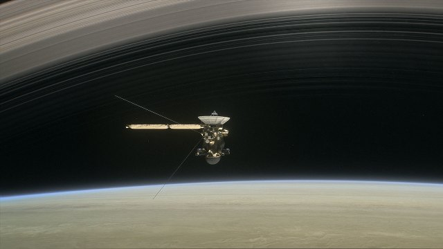 Cassini to begin final orbits of Saturn